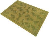 Veratex- Bamboo Leaf Rug 5.3 x 7.6