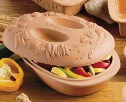 Reco- Romertopf Clay Bakers Vegetable Baker