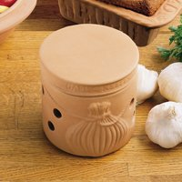 Reco- Romertopf Clay Bakers Garlic Keeper