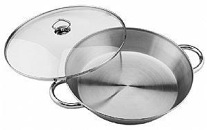 Kinetic- 14' Paella Pan with glass lid