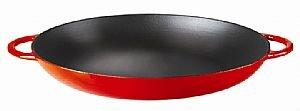 Kinetic-14cm Open Red Paella Pan