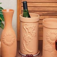 Reco- Romertopf Companion Pieces Wine Cooler - Grape or Sunflower