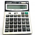 Citizen CT-912 Basic Calculator 12 Digits Big Display Dual Power Calculator