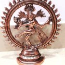 Natraj Metal Sculpture God Siva Dancing Statue Hindu Goddess Statue Figurine