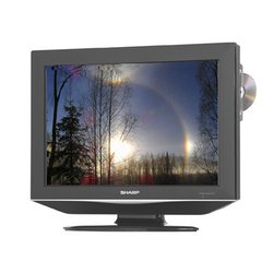 Sharp19-Inch HDTV/DVD Combination (Black)