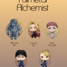 Fullmetal Alchemist sticker set