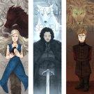 Game of Thrones bookmark set
