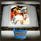 Knockout Kings 2000 (Nintendo 64, 1999) Very good condition N64 Video GAME!