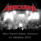 Airbourne - Metro Theatre, Sydney, Australia Jan.13,2017 (CD)