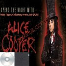 Alice Cooper Band - Sticky Fingers (Top Floor), Gothenburg, Sweden, July 25,2017 (CD)