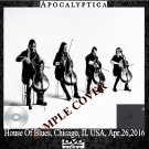 Apocalyptica - House Of Blues, Chicago, IL USA, Apr.26,2016 (DVD)