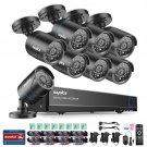 1080P HDMI DVR 1500TVL Outdoor HD 720P Night CCTV Security Camera System