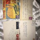 Mix Lot Of Used Cover Letters D119