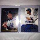 Five Derek Jeter Baseball Cards Mint 0062