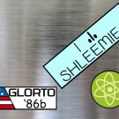 Rick and Morty Rick's Bumper Stickers and Magnet Set