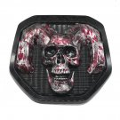 blood skull Tailgate head Emblem Medallion Satin Skul 2019-2020 for Dodge RAM 1500 DT 1500 2500 3500