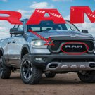 Gloss Red Front Grille Nameplate LETTERS 19-21 DODGE RAM 1500 2500 3500 Limited Rebel 68311411AA