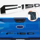 carbon fiber black Tailgate 3D Inlay Raised Insert Letters Stickers badge fit for 18-20 Ford F150