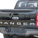 chrome Tailgate 3D Inlay Insert Letters Stickers badge Emblem Not Decals for Ranger 2019 2020