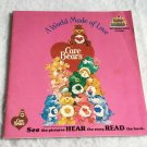 Care Bears A World Made Of Love Kid Stuff Book & Record Set 1983