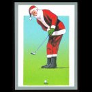 1991 Tuff Stuff Santa Claus Golf Card Very Scarce!