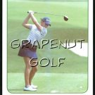 2005 Natalie Gulbis Golf Game Card  #4 Worm Burner