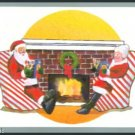 '91 Tuff Stuff Santa Claus & Mrs Claus Card Rare!