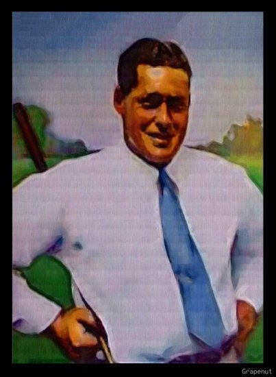 Bobby Jones Bally Art Golf Legend Series Card /18