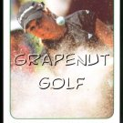 2005 Natalie Gulbis Golf Game Card  #3 In the Sand