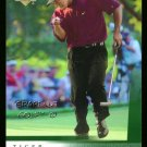 Tiger Woods 2001 Upper Deck Rookie UD RC Golf Card Nice