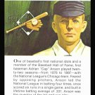 1981 True Value Hardware Cap Anson Baseball HOF Card