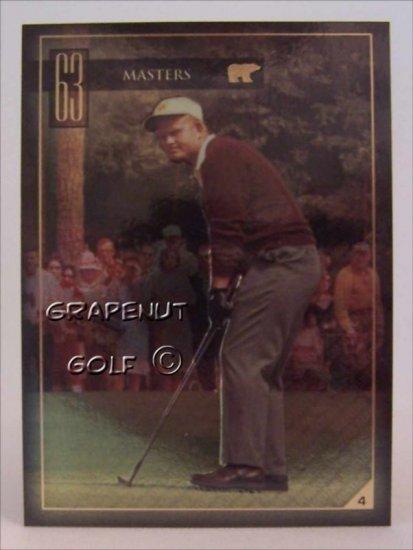 Jack Nicklaus 1963 Masters Golf Trading Card #4 Rare