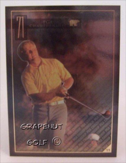 Jack Nicklaus 1971 PGA Golf Trading Card #11 Rare