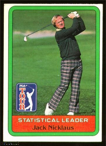 1981 Donruss Jack Nicklaus Golf Card NrMT-MT Great Buy!