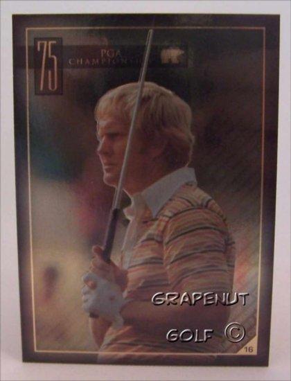 Jack Nicklaus 1975 PGA Golf Trading Card #16 Rare