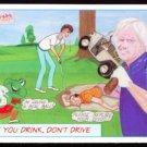 '93 Panema Marketing Miss Masters 33 Golf Card Nicklaus