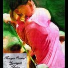 Morgan Pressel Bally Art LPGA Golf Girl Card Rare /18
