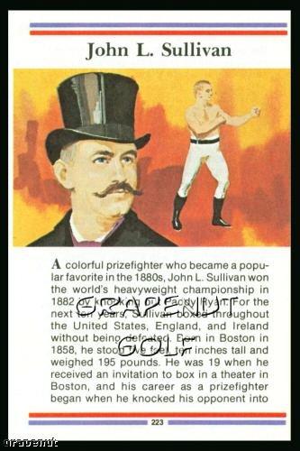1981 True Value Hardware John Sullivan Card Rare!
