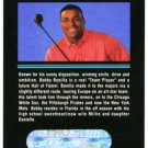 1992 Bobby Bonilla Ultra Pro P1 Golf Trade Ad Card Rare