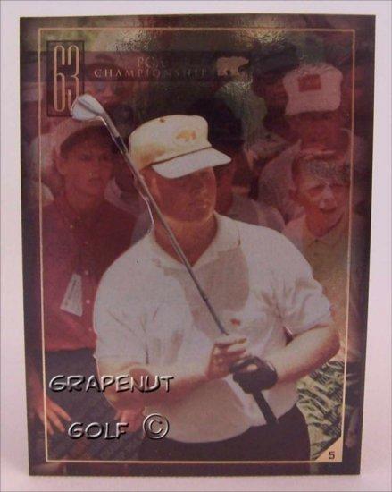 Jack Nicklaus 1963 PGA Golf Trading Card #5 Rare