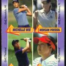 Michelle Wie Morgan Pressel Rookie Sexy Golf Girl Card