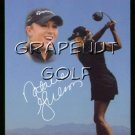 Natalie Gulbis LPGA Sexy Golf Game Action Card Hot Girl