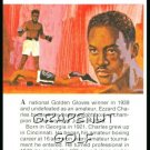 1981 True Value Hardware Ezzard Charles Card Rare!