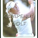 2005 Natalie Gulbis Golf Game Card  #1 In the Water