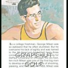 1981 True Value Hardware George Mikan Card Rare!