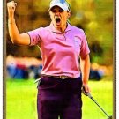 Annika Sorenstam Bally Golf Card Portrait Rare /18