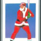 Tuff Stuff Santa Claus Christmas Baseball Player Card