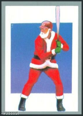 Tuff Stuff Santa Claus Christmas Baseball Player Card