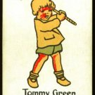 1920's Tommy Green Happy Family Uncataloged Golf Card!