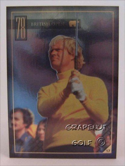 Jack Nicklaus 1978 British Open Golf Trading Card #17